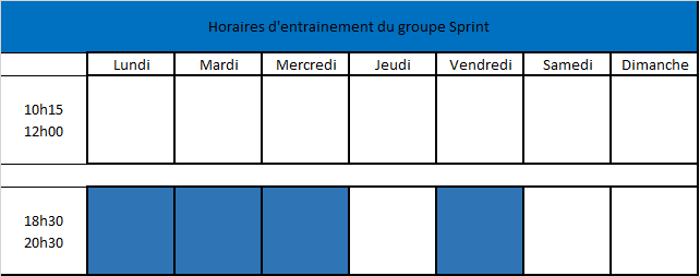 horaires groupe ibou