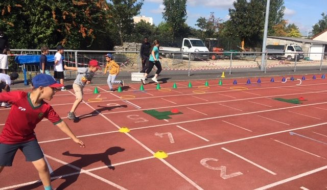 Vacances sportive apprenantes athletisme